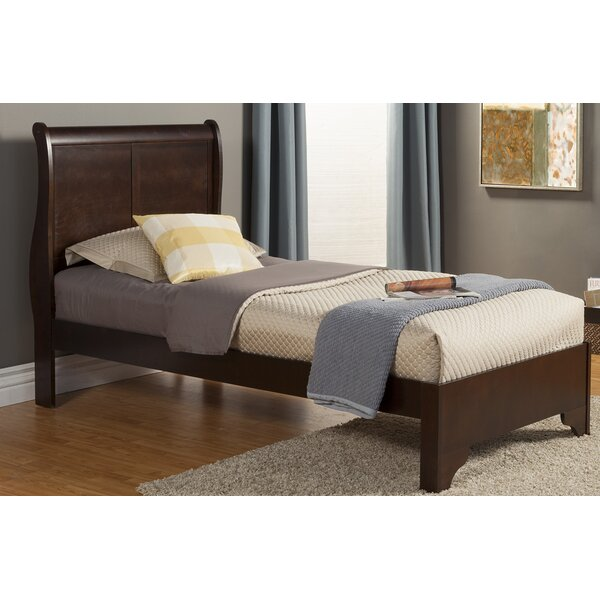 Ferrero Twin Sleigh Bed by Three Posts