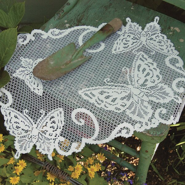 Butterflies Placemat (Set of 2) by Heritage Lace