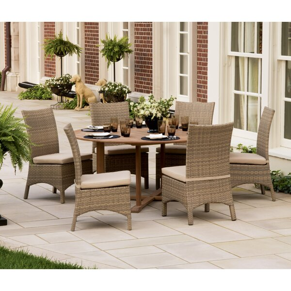 Navarette 7 Piece Dining Set by Beachcrest Home