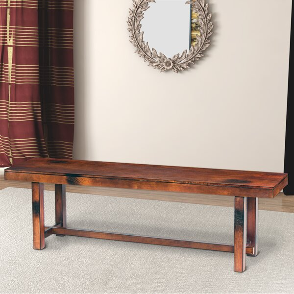 Siems Wood Bench by Millwood Pines