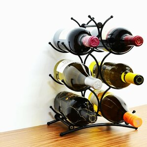 Turin 6 Bottle Tabletop Wine Rack by Superiore Livello