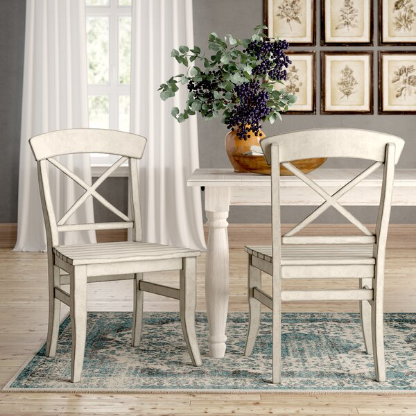 Calila X-Back Side Chair (Set of 2) by Birch Lane™ Heritage