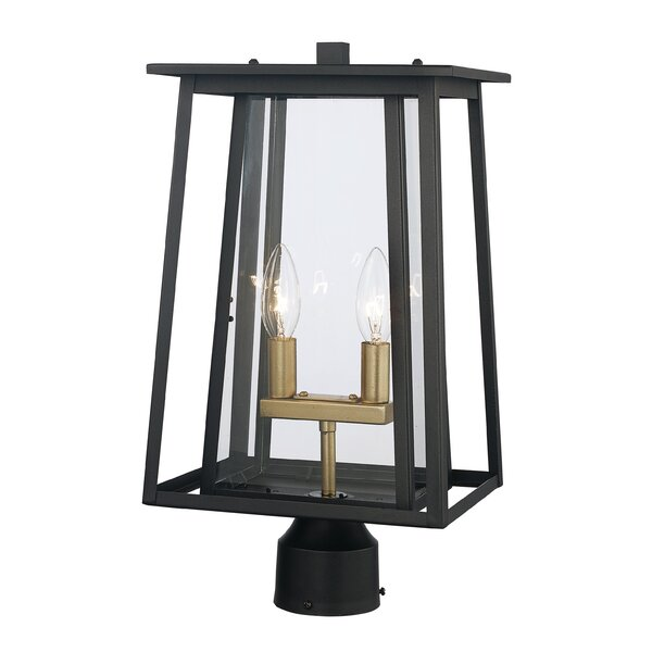 Ben 2-Light Lantern Head by Gracie Oaks