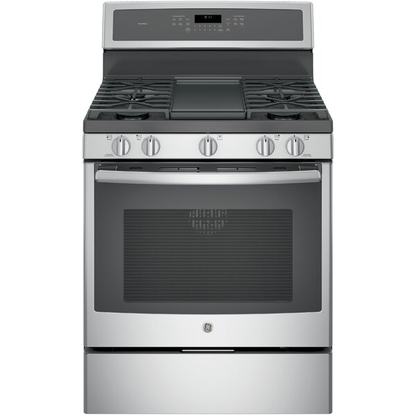 30 Free-Standing Gas Range with Griddle by GE Profile™