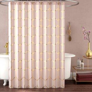 Read Reviews Mangesh Microfiber Shower Curtain ByWilla Arlo Interiors