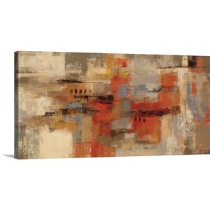 'City Wall' by Silvia Vassileva Painting Print on Canvas by Great Big Canvas