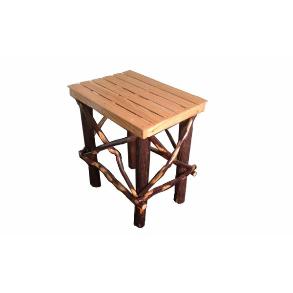 Chau Solid Wood End Table By Loon Peak