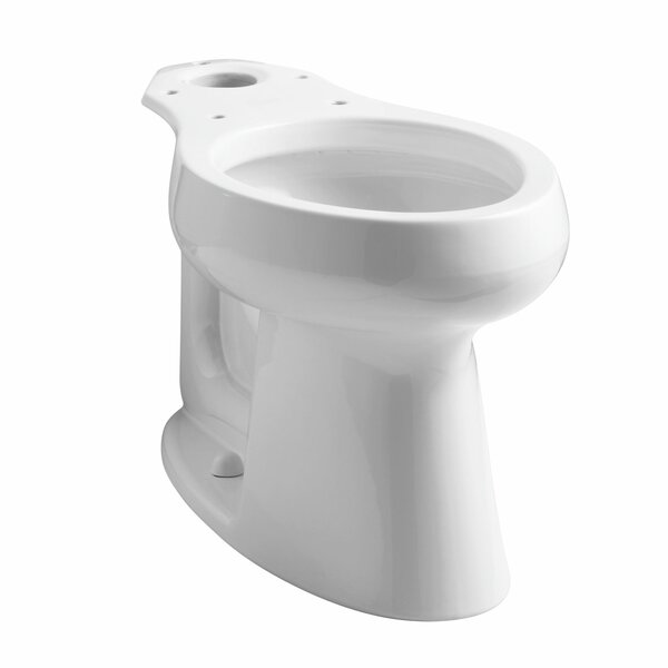 Highline Comfort Height Elongated Bowl with Lugs by Kohler