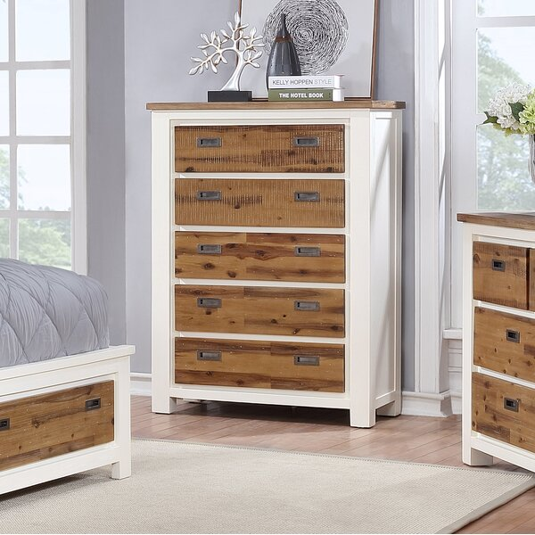 Favela 5 Drawer Chest By Millwood Pines by Millwood Pines Sale