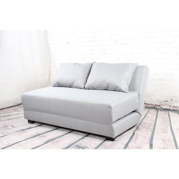Latest Collection Karima Single Modern Loveseat by Latitude Run by Latitude Run