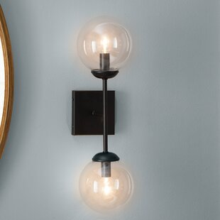 Sconces youll love wayfair bendooragh 2 light up downlight aloadofball Image collections