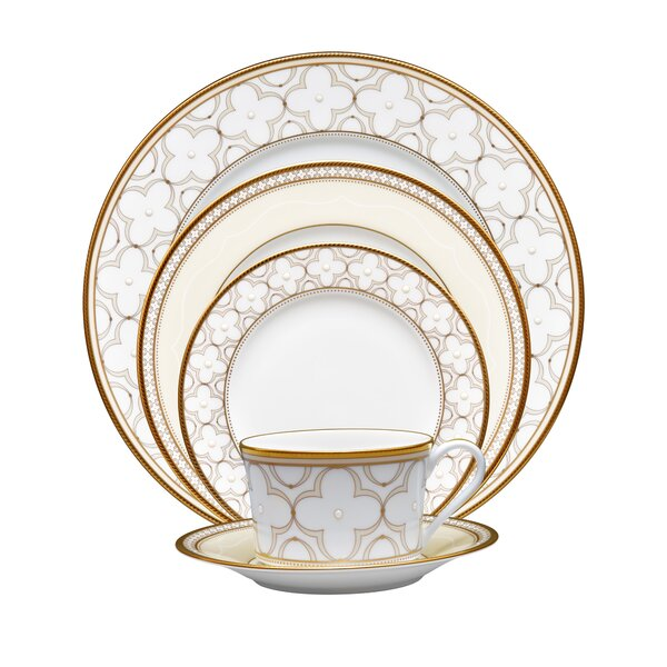Trefolio 5 Piece Place Setting, Service for 1 by Noritake