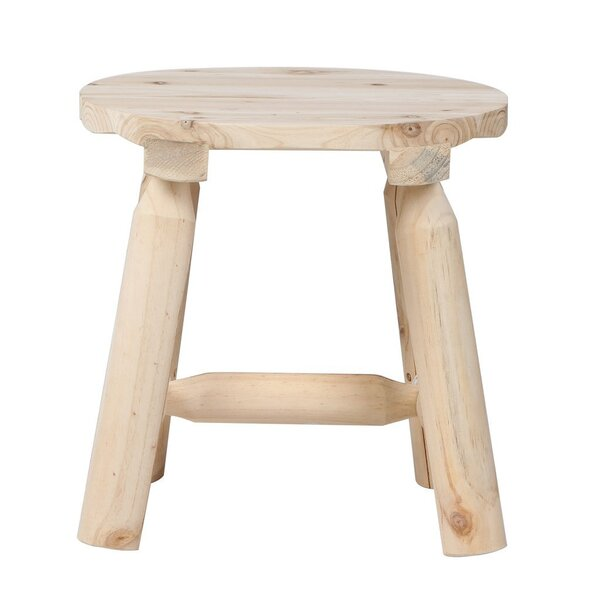Tamura Wooden 15.75'' Patio Bar Stool by Millwood Pines