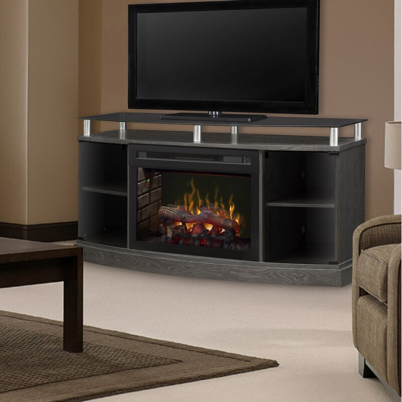 dimplex windham tv stand for tvs up to 55 with fireplace reviews wayfair. Black Bedroom Furniture Sets. Home Design Ideas