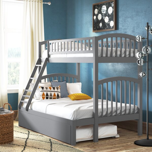 Jackie Twin over Full Bunk Bed with Trundle by Viv + Rae