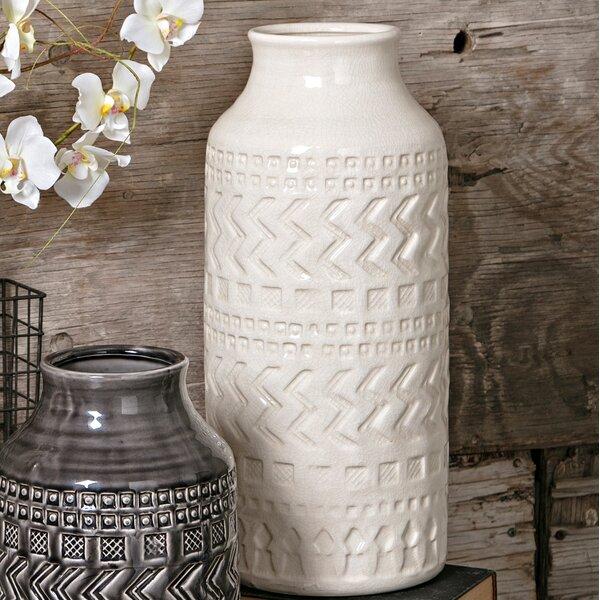 Cylinder Ceramic Vase by Mistana
