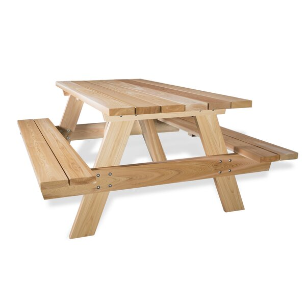 Cedar Picnic Table by All Things Cedar