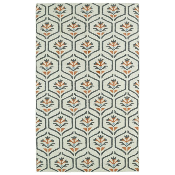 Gillespie Ivory Geometric Area Rug by Winston Porter