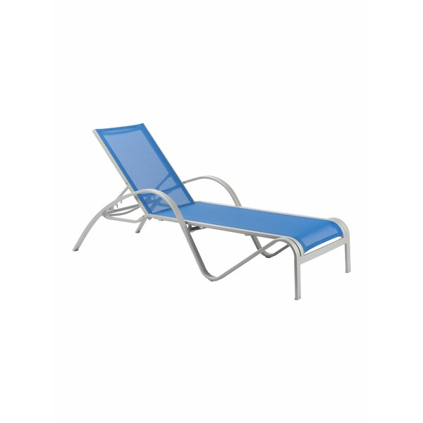 Redington Reclining Chaise Lounge by Florida Seating