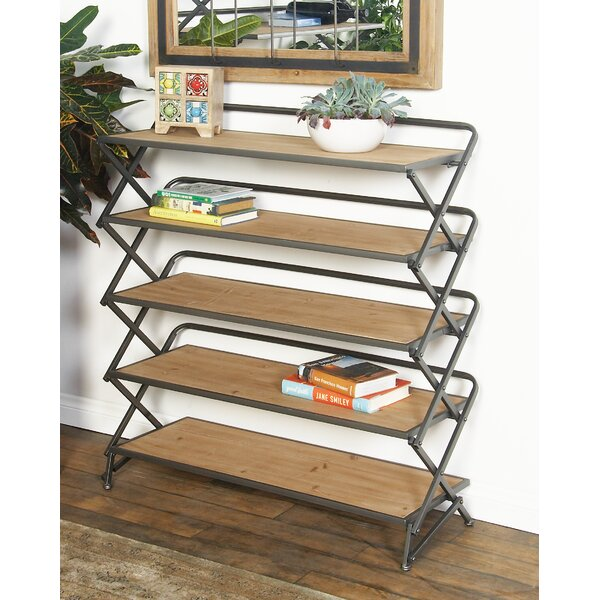 Contemporary 5-Tiered and Long Accordion Shelf by Cole & Grey