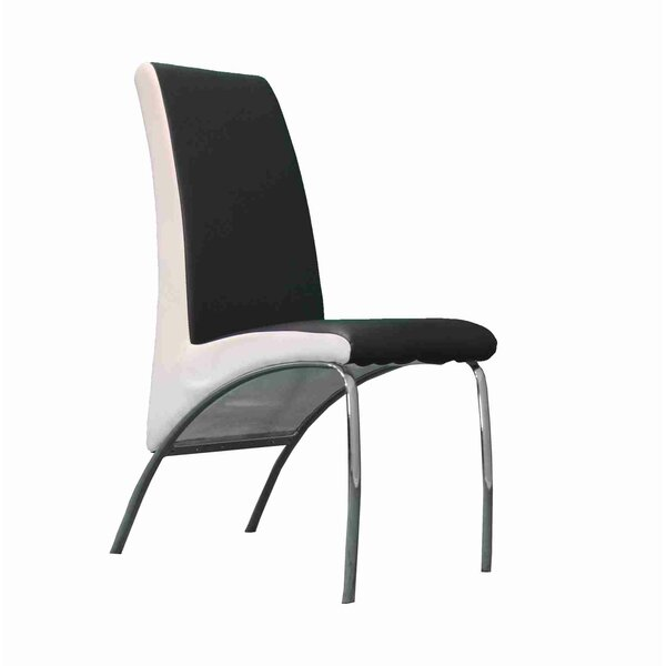 Queeny Upholstered Dining Chair (Set of 2) by Orren Ellis