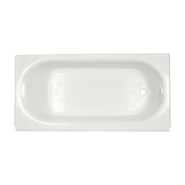 Princeton 60 x 30 Above Floor Americast Recessed Soaking Bathtub by American Standard
