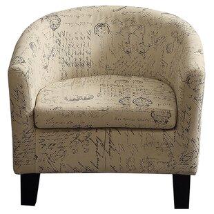 Great choice Lagunitas Barrel Chair ByOphelia & Co.