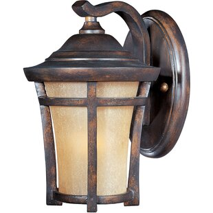 Top Reviews Saranac 1-Light Outdoor Wall Lantern By Darby Home Co