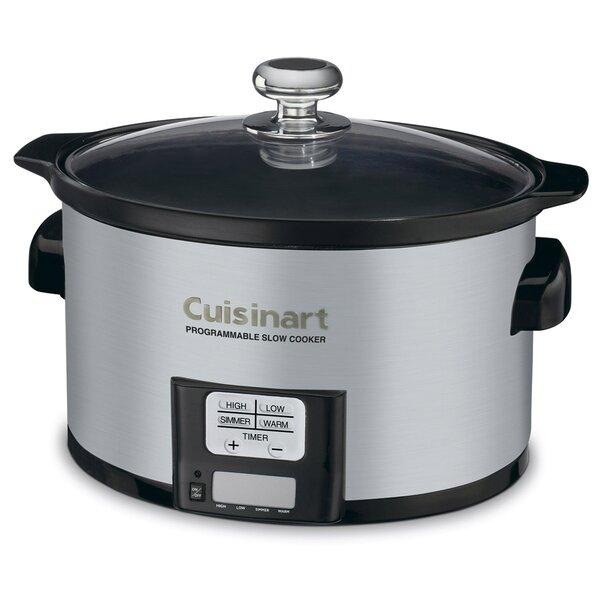 3.5-Qt. Programmable Slow Cooker by Cuisinart