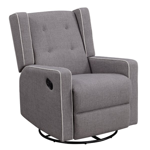 Graceville Shelter Manual Swivel Recliner By Darby Home Co