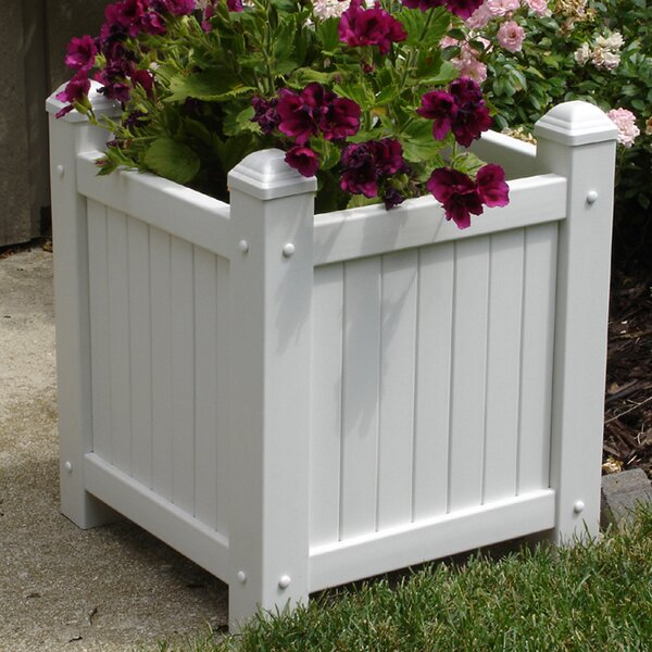 Vinyl Planter Box by Dura-Trel