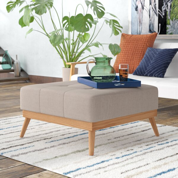 Review Soperton Tufted Cocktail Ottoman
