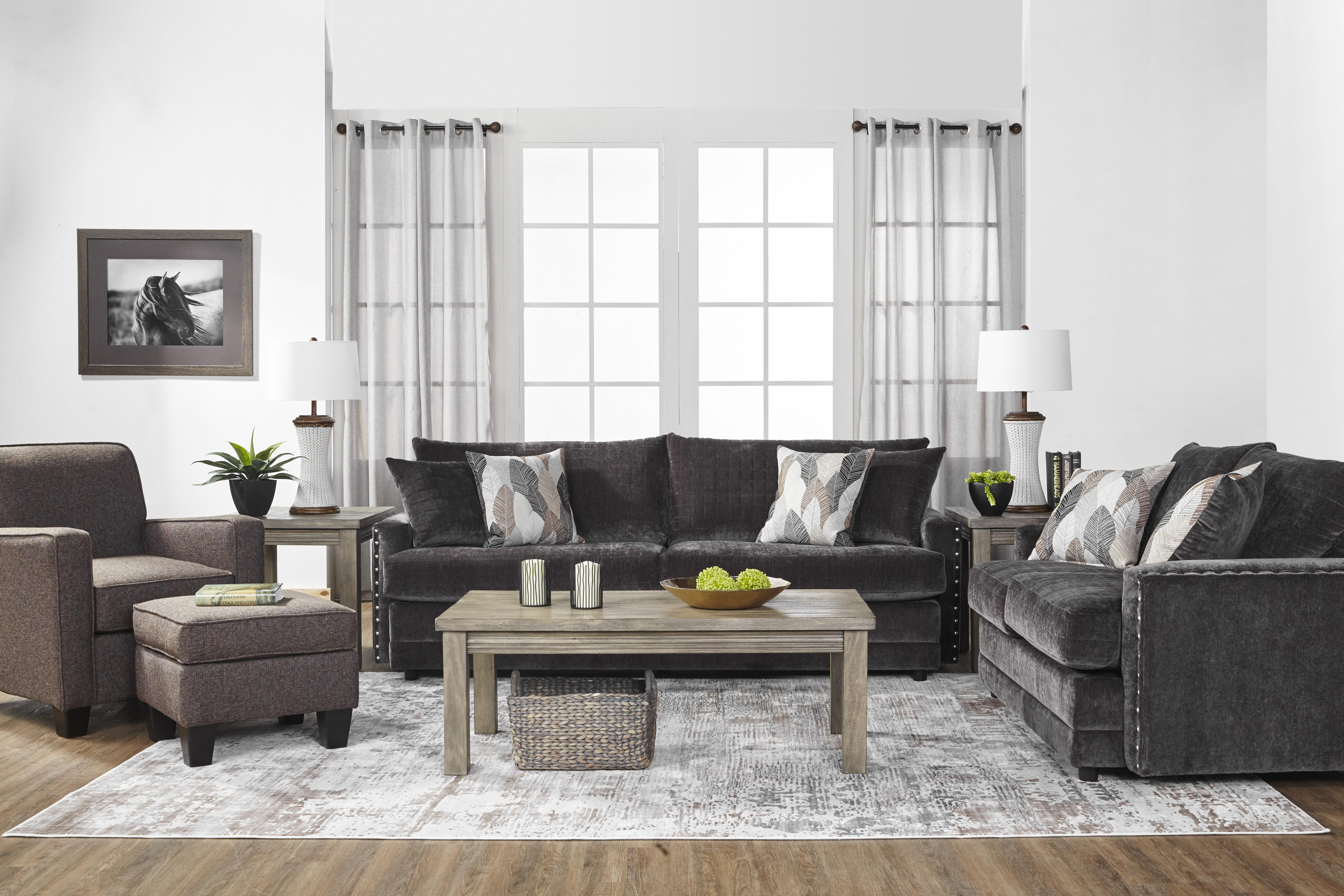 Charlton Home Hesse Configurable Living Room Set   Wayfair