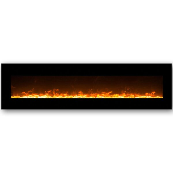 Andres Wall Mounted Bio-Ethanol Fireplace by Orren Ellis