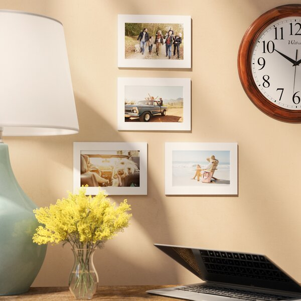 Creason Wood Picture Frame (Set of 4) by Red Barrel Studio