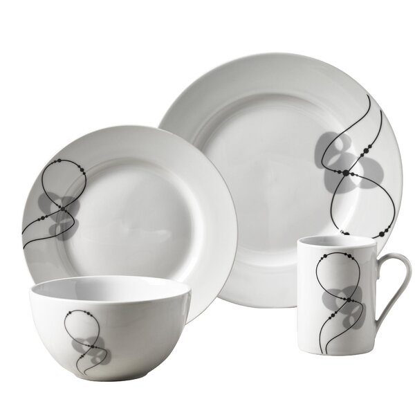 Eddyville 16 Piece Dinnerware Set, Service for 4 by Ebern Designs