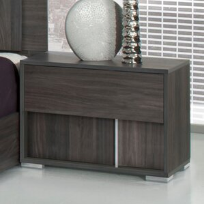 Chidley 2 Drawer Nightstand by Wade Logan