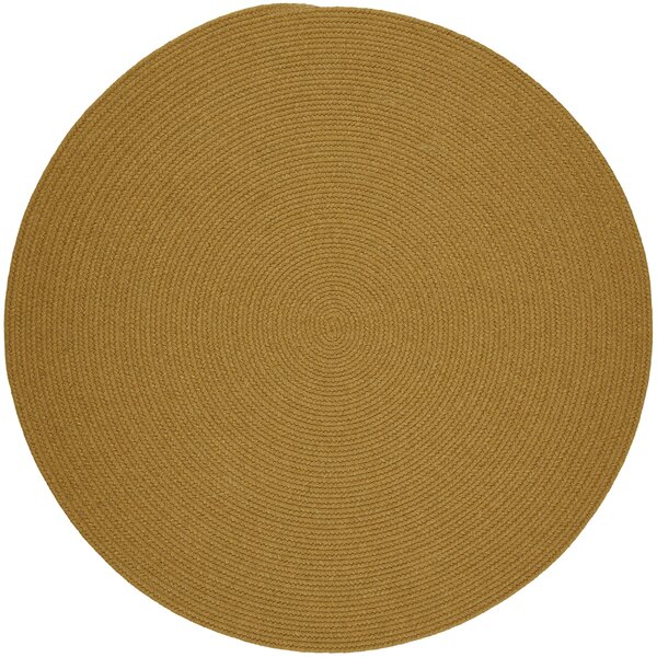 Handmade Vintage Gold Area Rug by The Conestoga Trading Co.