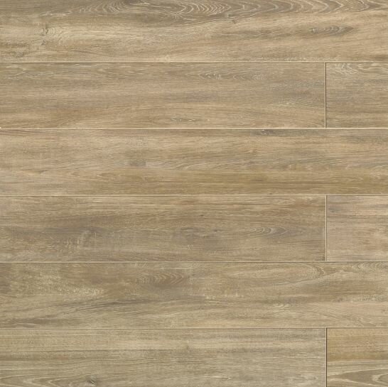 Othello 7.75 x 47.13 Porcelain Wood Field Tile in Clay by Bedrosians