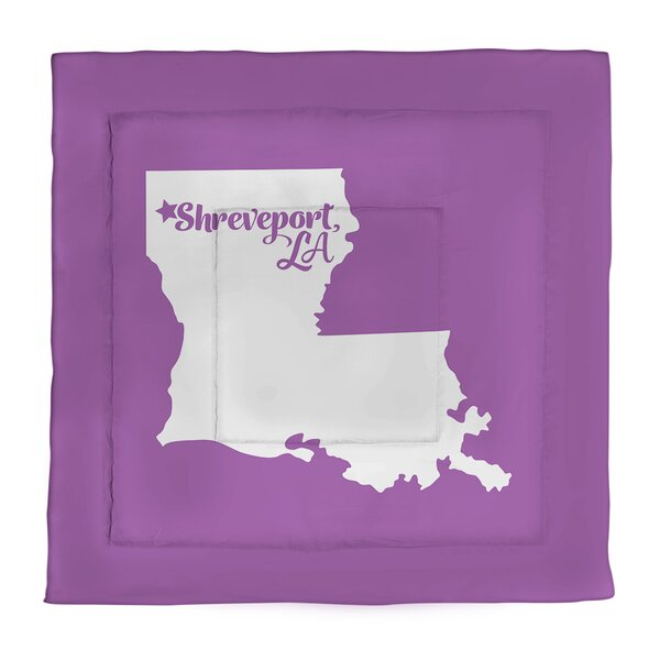 Shreveport Louisiana Single Reversible Comforter