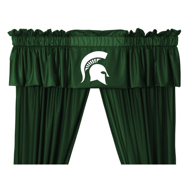 NCAA 88 Michigan State Spartans Curtain Valance by Sports Coverage Inc.