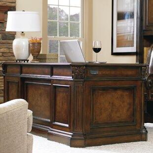 European Renaissance II Knee hole Solid Wood Executive Desk