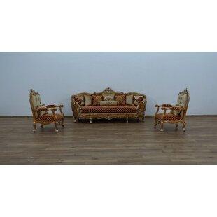 Busch 3 Piece Living Room Set by Astoria Grand