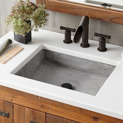 Undermount Sink Rectangular Ash photo