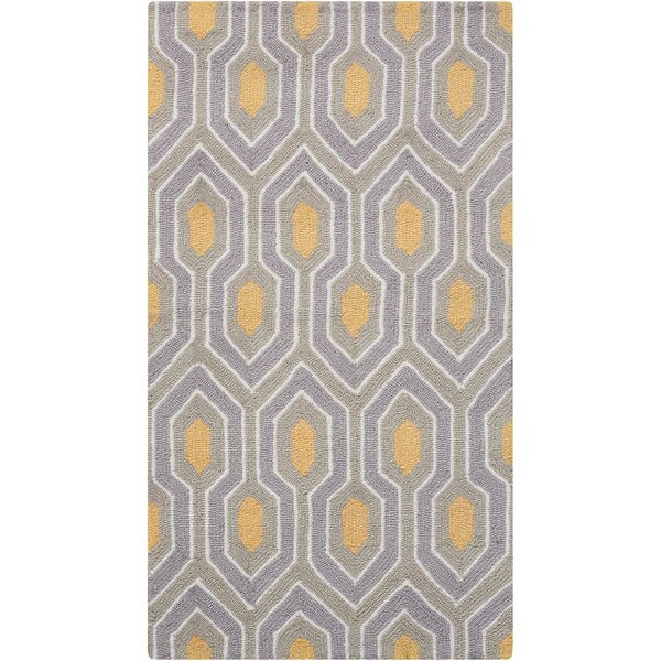 Iseminger Hand-Tufted Ash Area Rug by Wrought Studio