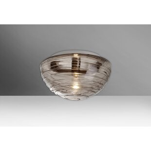 Shopping for Wave 1-Light Outdoor Flush Mount By Besa Lighting