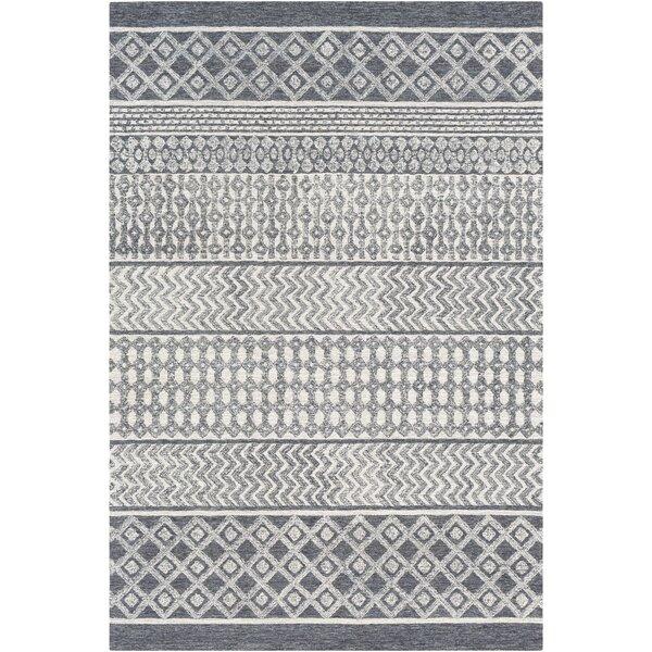 Pittsfield Handmade Tufted Wool Light Gray Rug