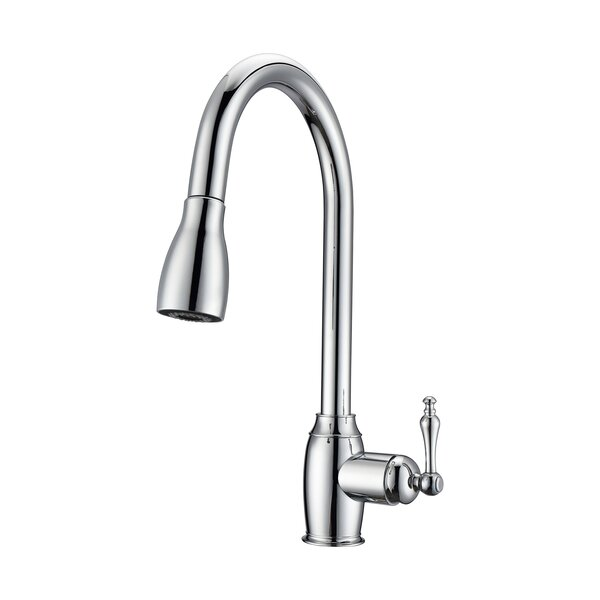 Bistro Pull Down Single Handle Kitchen Faucet by Barclay