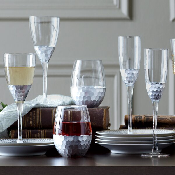 Chauncey Stemless Wine Glass (Set of 4) by Birch Lane™
