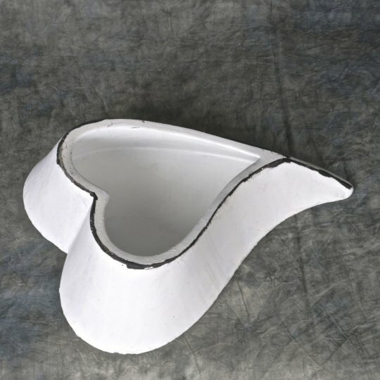 Heart Ceramic Pot Planter by Mr. MJs
